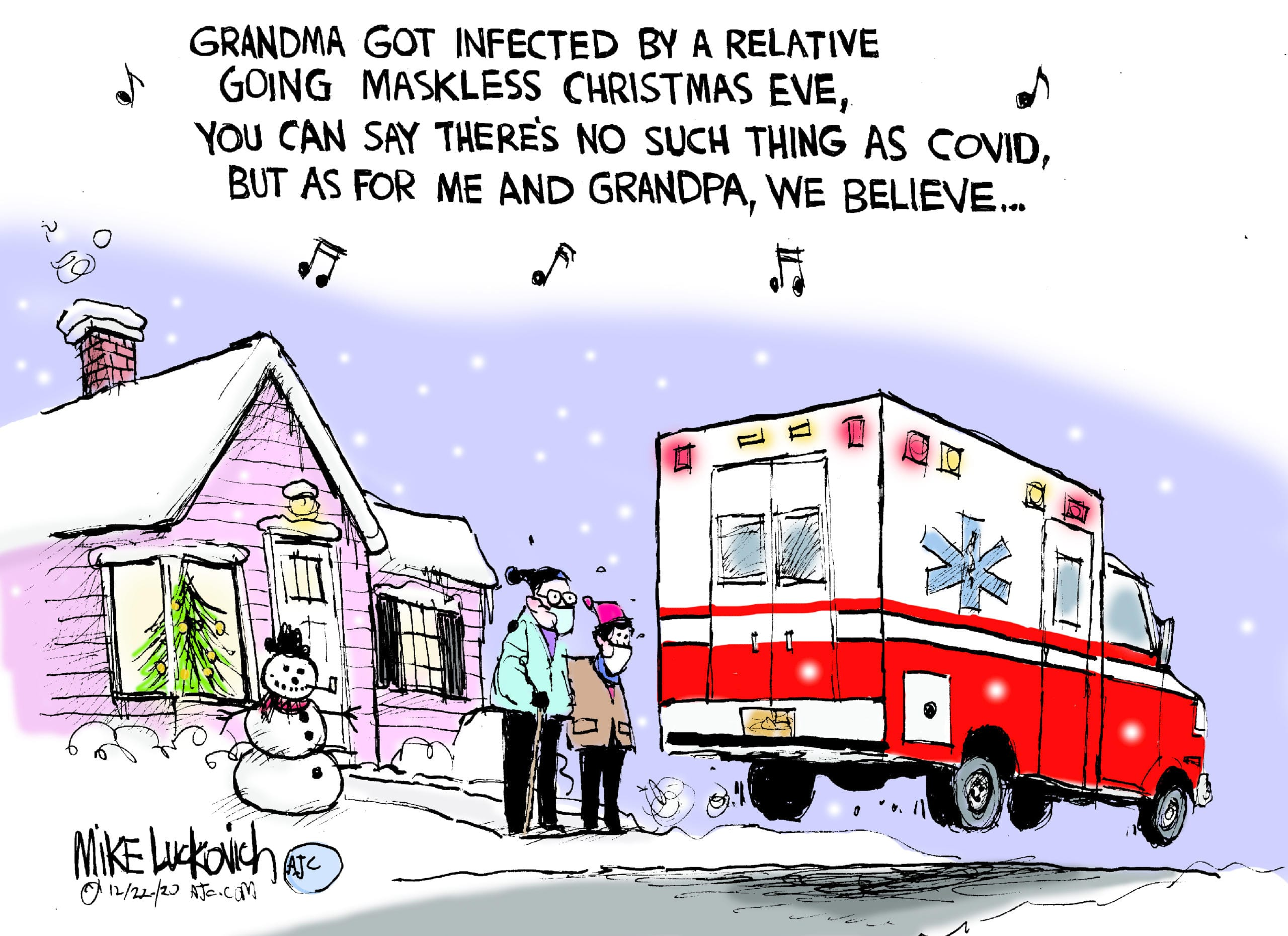 Dec. 26: Grandma Got Infected