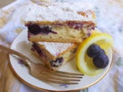 These lemon berry cheesecake bars, with an upper and lower crust made of crescent roll dough, are absolutely heavenly.