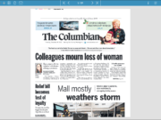 The Columbian's e-edition is a a digital version of the daily print paper.