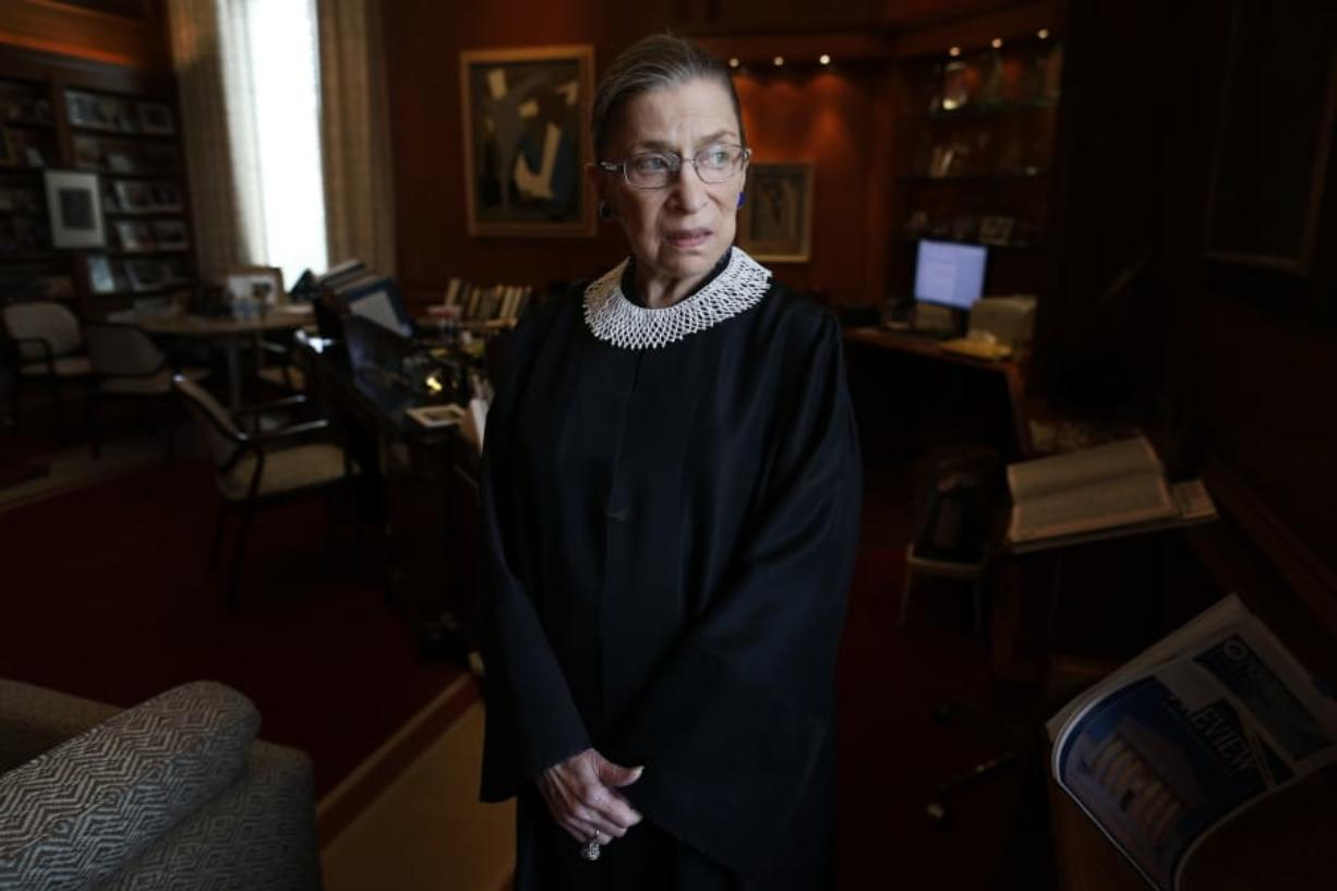 Associate Justice Ruth Bader Ginsburg Sept. 18.