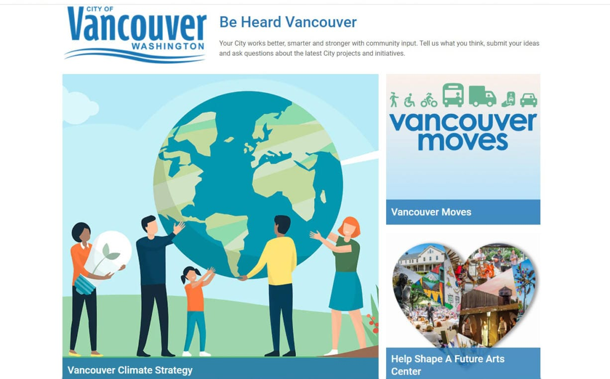 The city of Vancouver's transportation survey is at www.beheardvancouver.org/vancouvermoves