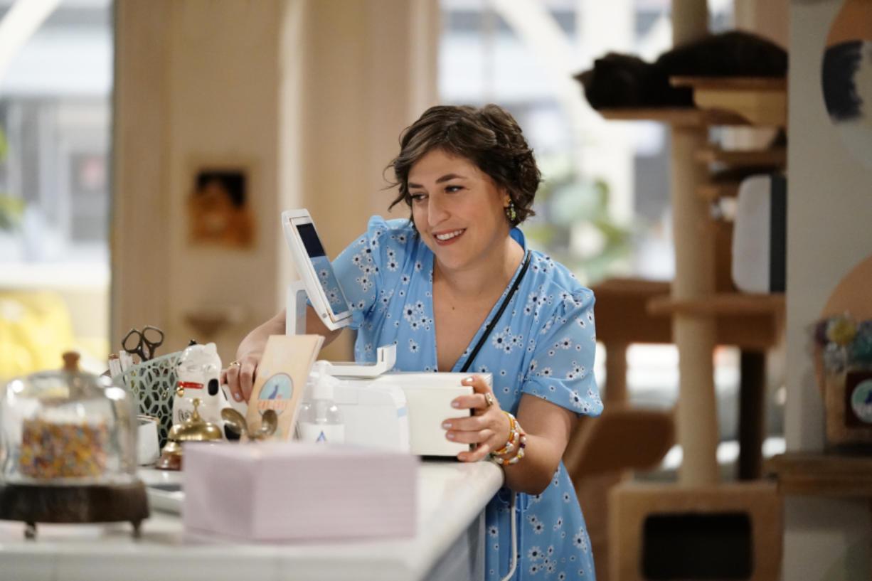 "Mayim Bialik in the ""Vacation"" episode of ""Call Me Kat."" (Lisa Rose/FOX/TNS)"