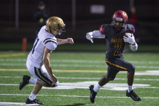 Fall sports, including football, would be allowed to start on Feb. 1 under current WIAA guidelines. But that doesn't mean chinstraps will be buckled next month. Much of that depends on the region's COVID-19 metrics and the decisions of local leagues and schools.   (Files/The Columbian)