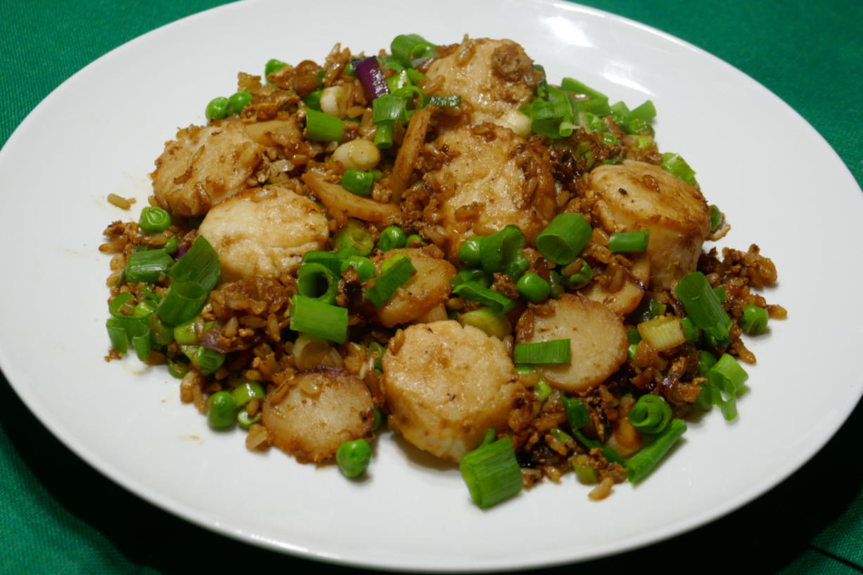 Scallop Fried Rice.