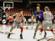 Cherita Daugherty (15), a Prairie High grad playing her junior season at Southern Utah.
