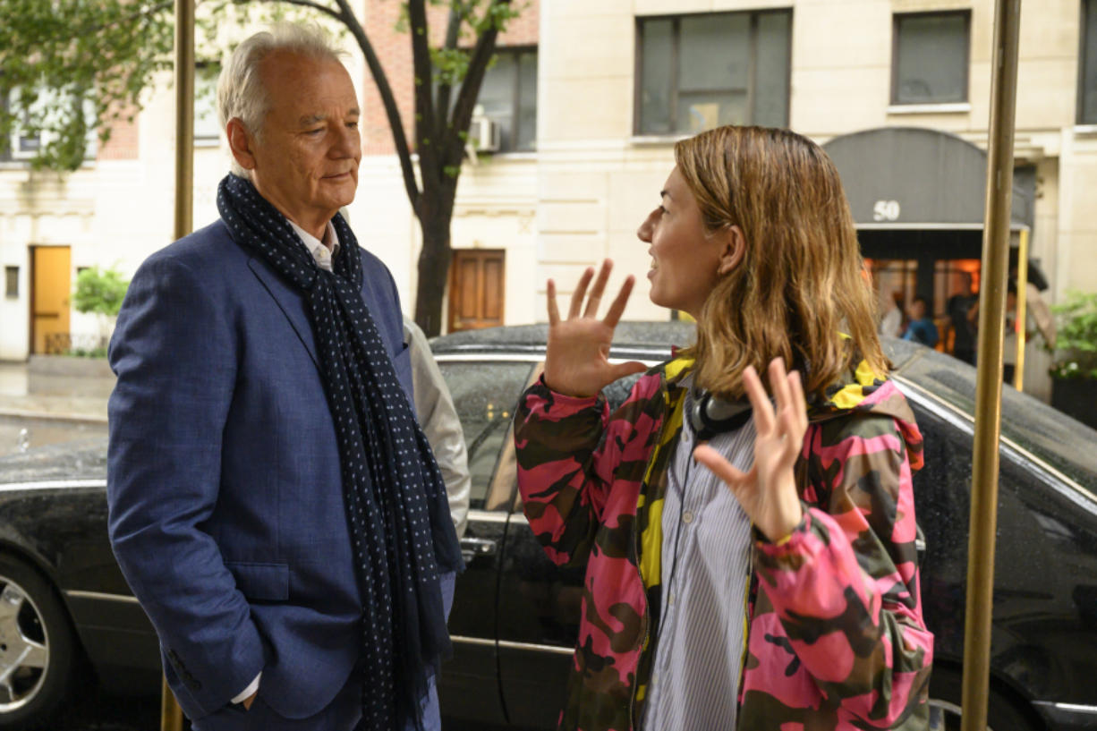 """""""His charm and sense of fun and magic is something that the character has, and he brings it to life,"""" Sofia Coppola says of her """"On the Rocks"""" star, Bill Murray."""