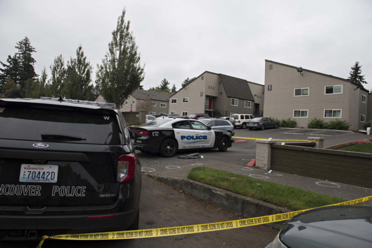 The October shooting unfolded in the area of the Parc Central apartments in Vancouver's Rose Village neighborhood.