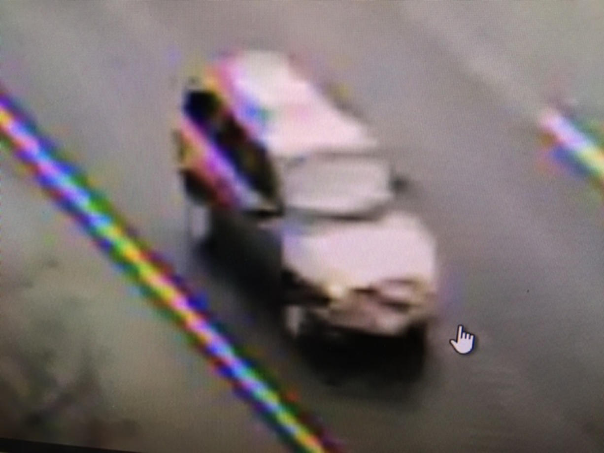The Washington State Patrol is looking for an early-2000s Chevy Trailblazer or similar model that was allegedly involved in a fatal hit-and-run on Interstate 5 Sunday morning near La Center.
