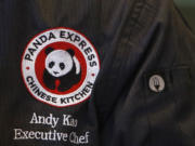 Andy Kao, executive chef at Panda Express, tastes a meatball recipe at the company's Express Innovation Kitchen in Pasadena, Calif.