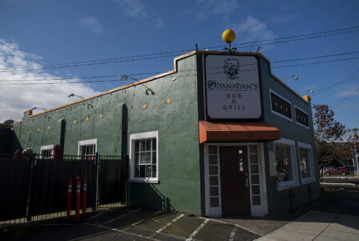 Shanahan's Irish Pub is located at 209 West McLoughlin Boulevard., as seen on Friday morning, March 1, 2019.
