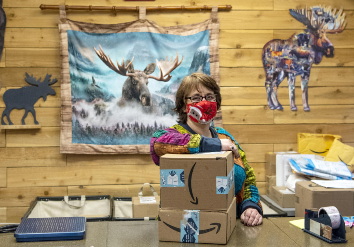 Abbey Huettl bought Ridgefield Pack and Ship for $1 when the previous owner retired. The pandemic has brought her a new wave of business.