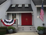LAKE SHORE: Loise-Elaine Smith-Zoll decorated her home with an American Flag in honor of President Joe Biden's inauguration.