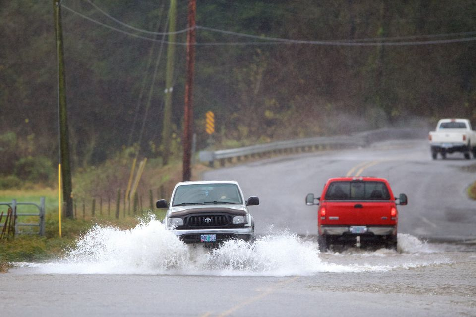 Flooding across roadways is likely Tuesday as a front brings heavy rain to the metro area.