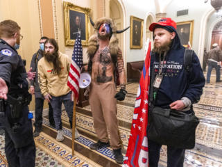 Electoral college certification riot in D.C.