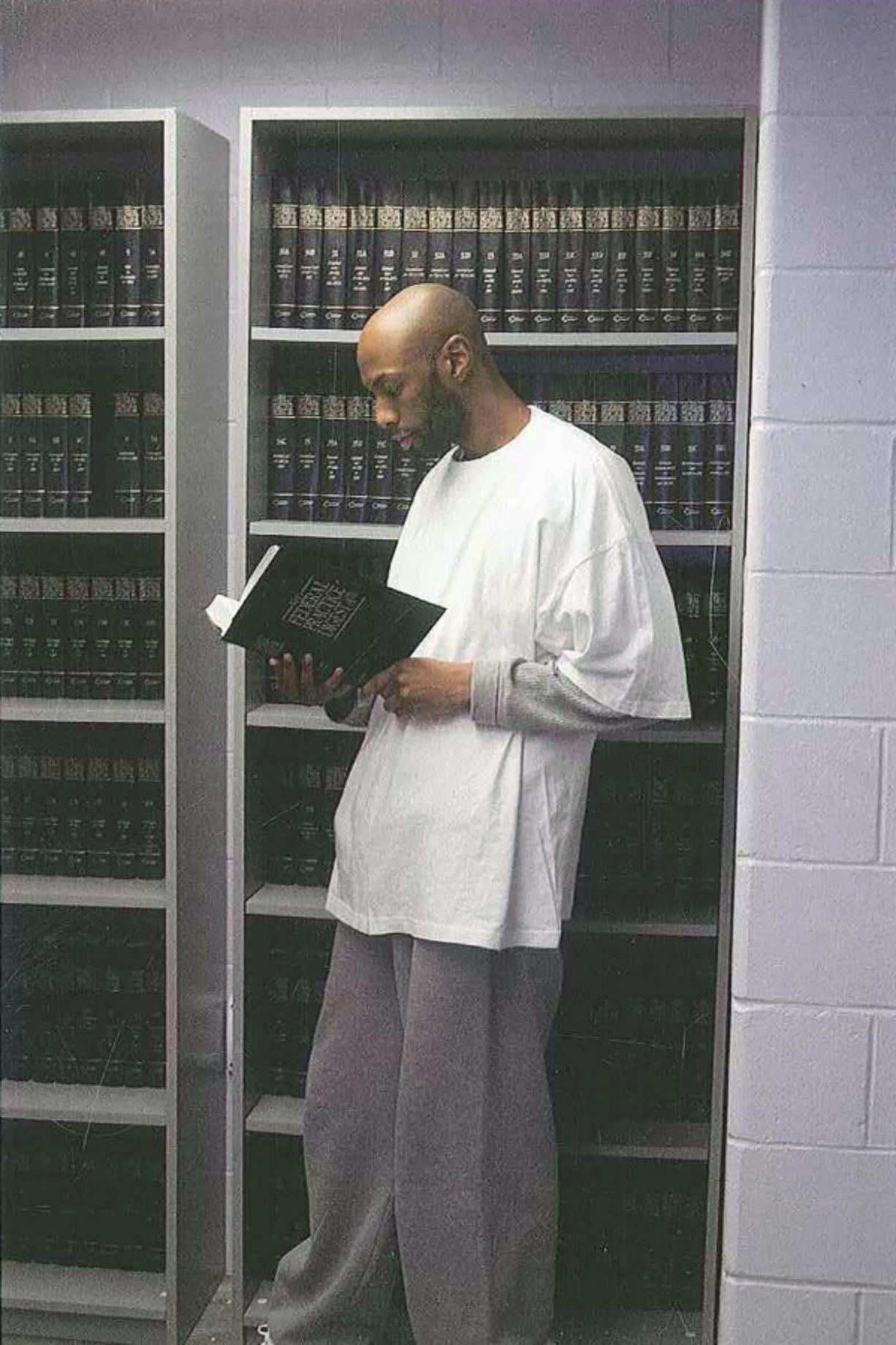This 2015 photo provided by Shawn Nolan Chief, Capital Habeas Unit Community Federal Defender Office for the Eastern District of Pennsylvania, shows Dustin Higgs at the Federal Prison in Terre Haute, Ind. Higgs, the last federal inmate facing execution before President Donald Trump leaves office was sentenced to death for the killings of three women in a Maryland wildlife refuge in 1996. Higgs is scheduled to be executed on Friday, Jan. 15, 2021, at the federal prison in Terre Haute.