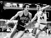 Phoenix Suns' Paul Westphal (44), pictured here playing in 1976, has died. The Hall of Fame basketball player's death was confirmed by the Phoenix Suns on Saturday, Jan. 2, 2021. He was 70.