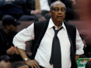 Temple coach John Chaney in 2006. He was one of the nation's leading Black coaches and a commanding figure during a Hall of Fame basketball career at Temple. He died at age 89. His death was announced by the university Friday, Jan. 29, 2021.