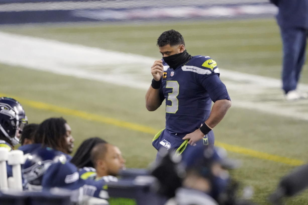 Since losing the Super Bowl after the 2014 season, Seattle Seahawks quarterback Russell Wilson hasn't led his team past the Divisional Round.