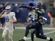 Seattle Seahawks strong safety Jamal Adams was a huge factor in Seattle's pass coverage and pass rush, setting a single-season record for most sacks by a defensive back this season.