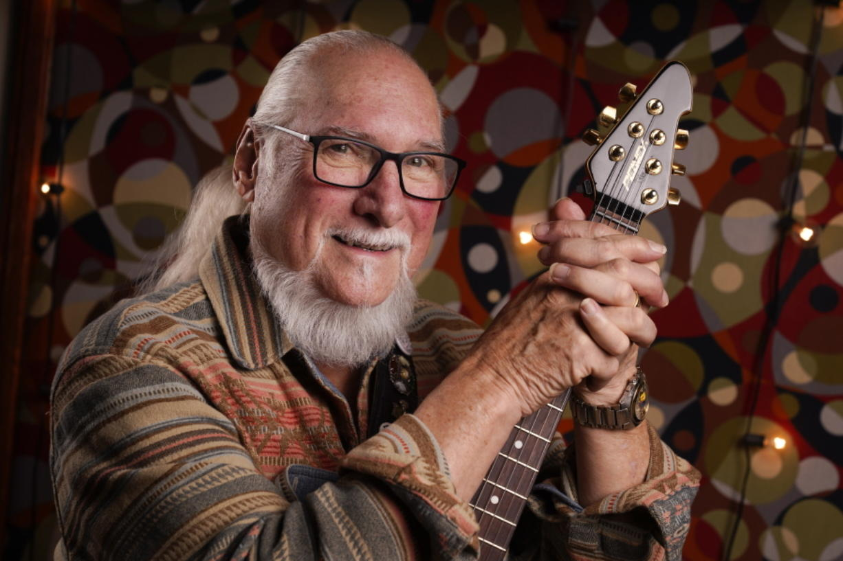 Guitarist, songwriter and record producer Steve Cropper, seen Dec. 2 in Nashville, Tenn., has been in the music business for more than six decades. At a time when it was common for white musicians to co-opt the work of Black artists, Cropper was that rare white artist willing to keep a lower profile and collaborate. More than half a century later, he is still making music at 79 years old. His latest album is scheduled for release in April.