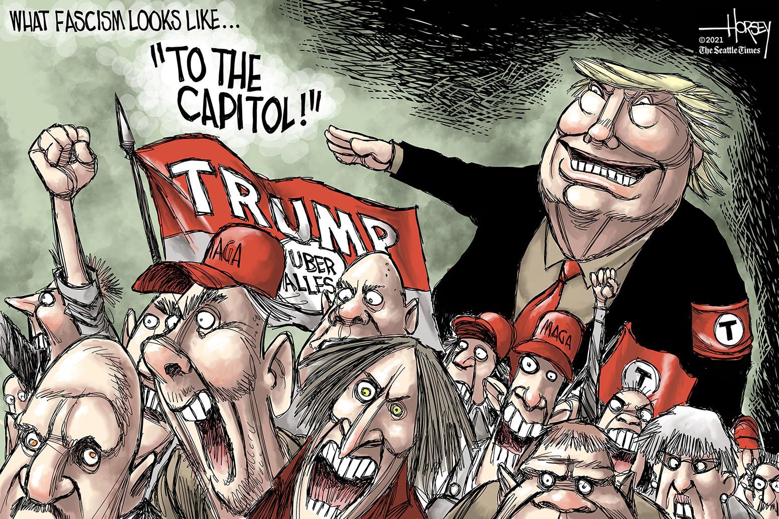 Jan. 9: Trump Fascism