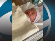 Kenzie Lucas Yuan was born at 4:32 a.m. on New Year's Day, weighed 6 pounds, 8 ounces and was 20 inches long.