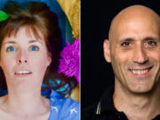 Anne Zander, left, and Gary Corbin