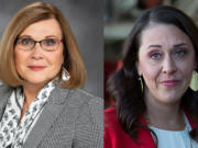 I spoke to Rep. Sharon Wylie, left, and Jaime Herrera Beutler about a topic that could change the the course of politics.