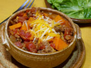 Beer-spiced chili.