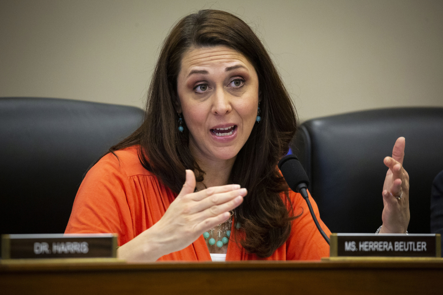 Rep. Jaime Herrera Beutler, R-Battle Ground, during a House Appropriations Committee hearing on Capitol Hill in Washington, D.C., in 2019.