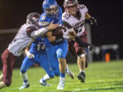 La Center running back Bryten Schmitz (5) rushed for 1,126 yards and 16 touchdowns in 2019.