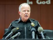 Clark County Sheriff Chuck Atkins