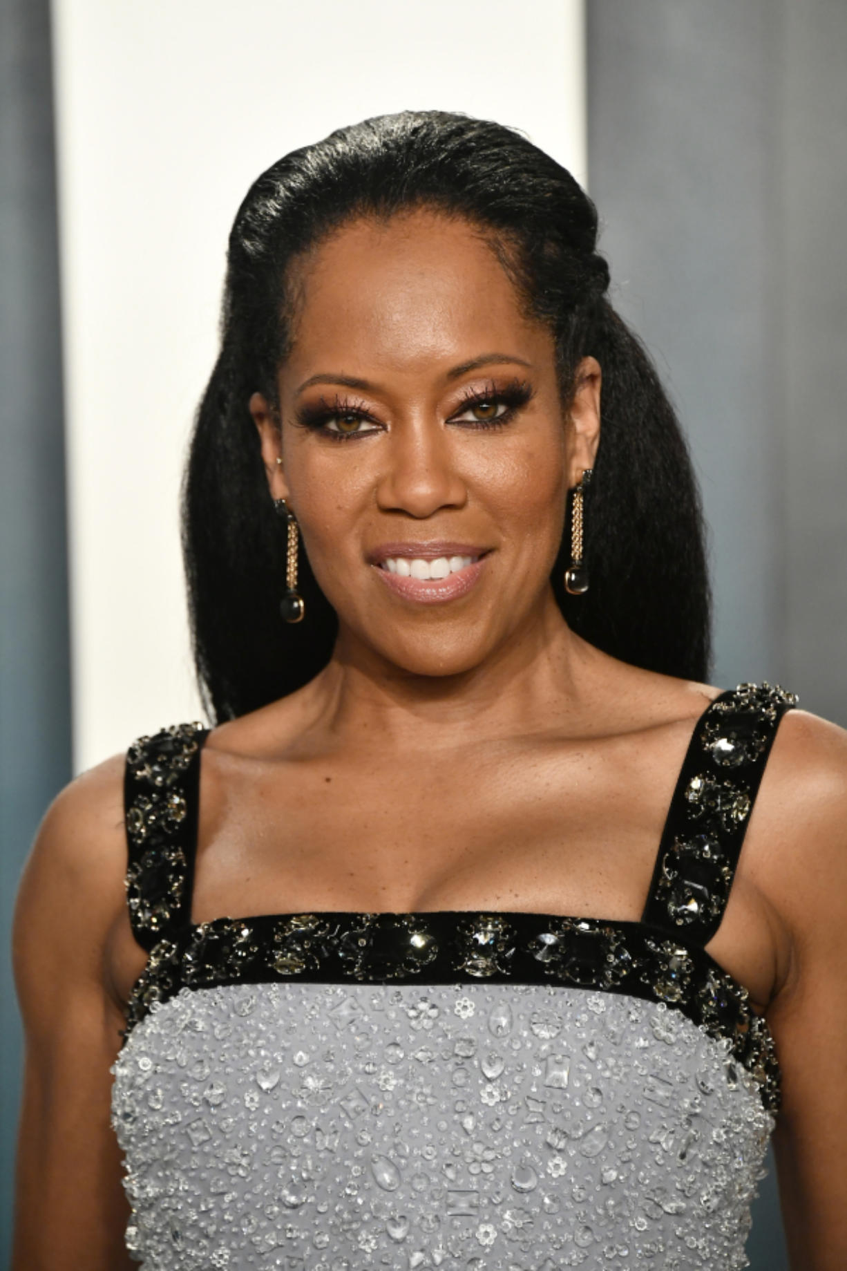 Regina King attends the 2020 Vanity Fair Oscar Party hosted by Radhika Jones at Wallis Annenberg Center for the Performing Arts on Feb. 9, 2020 in Beverly Hills, California.