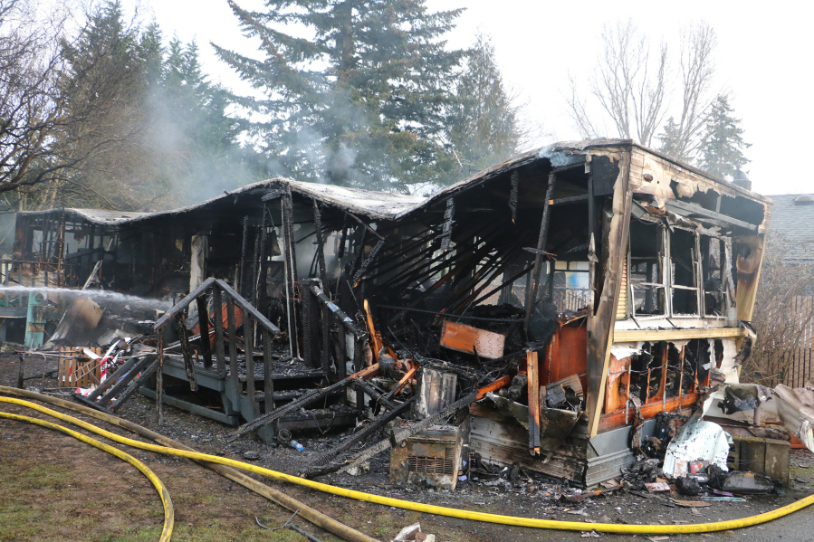 Firefighters responded Feb. 20 to 3700 X St., in Vancouver for a mobile home fire. Two people were injured in the place. The fire remains under investigation, as one of the residents recovers at the burn unit at Legacy Emanuel Medical Center in Portland, according to the Vancouver Fire Marshal's Office.