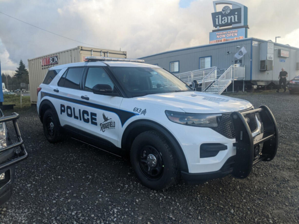 RIDGEFIELD: The Ridgefield Police Department received a $70,000 grant for a new patrol vehicle from the Cowlitz Indian Tribe.