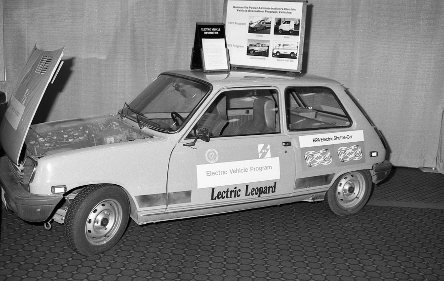 The Bonneville Power Administration tested a variety of electric vehicles at the Ross Complex in the 1970s.