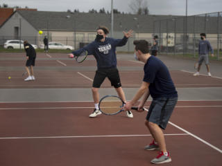 Photos: Skyview vs. Mountain View boys tennis