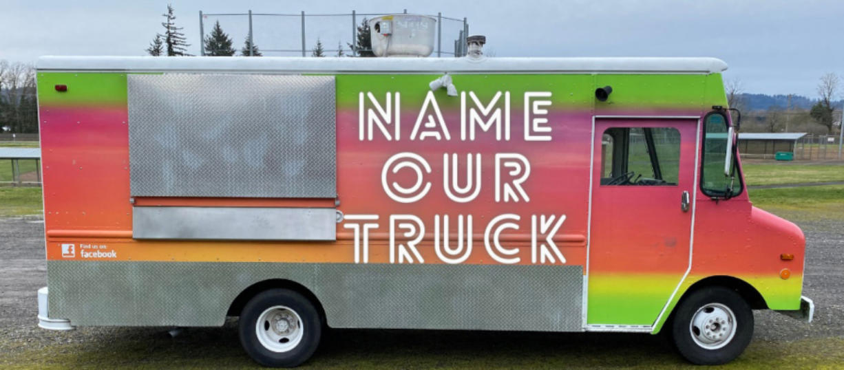WASHOUGAL: Washougal School District's Career and Technical Education Department is hoping students will come up with a clever name for its new food truck.