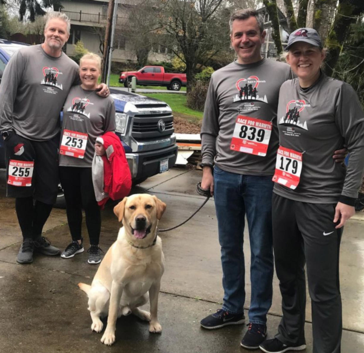 CLARK COUNTY: Clark Public Utilities' Race for Warmth featured 930 participants who raced virtually and raised more than $43,000 for Operation Warm Heart. The race took place anytime from Jan.