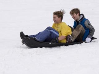 Sorenson Park proves popular sledding destination Saturday