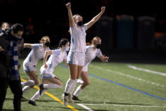 Hockinson girls soccer beats Columbia River in 2A title rematch sports photo gallery
