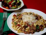 Holiday Pasta with Tuna Sauce.