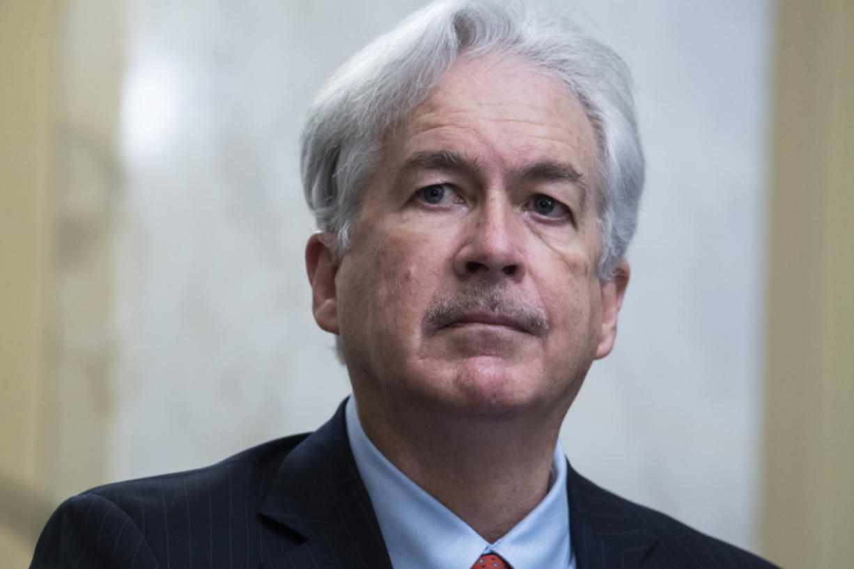 William Burns testifies before a Senate Intelligence Committee hearing on his nomination to be director of the Central Intelligence Agency, Wednesday, Feb. 24, 2021 on Capitol Hill in Washington.