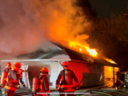 A total of five engines and a ladder truck from Vancouver Fire were dispatched to a house fire on McGillvray on Thursday night.