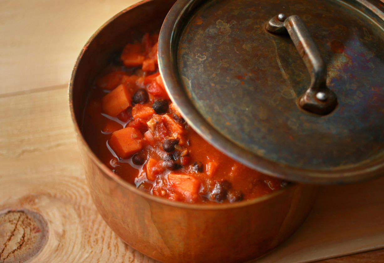 Vegan sweet potato chili (Photos by Christian Gooden/St.