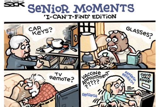 March 3: Senior Moments