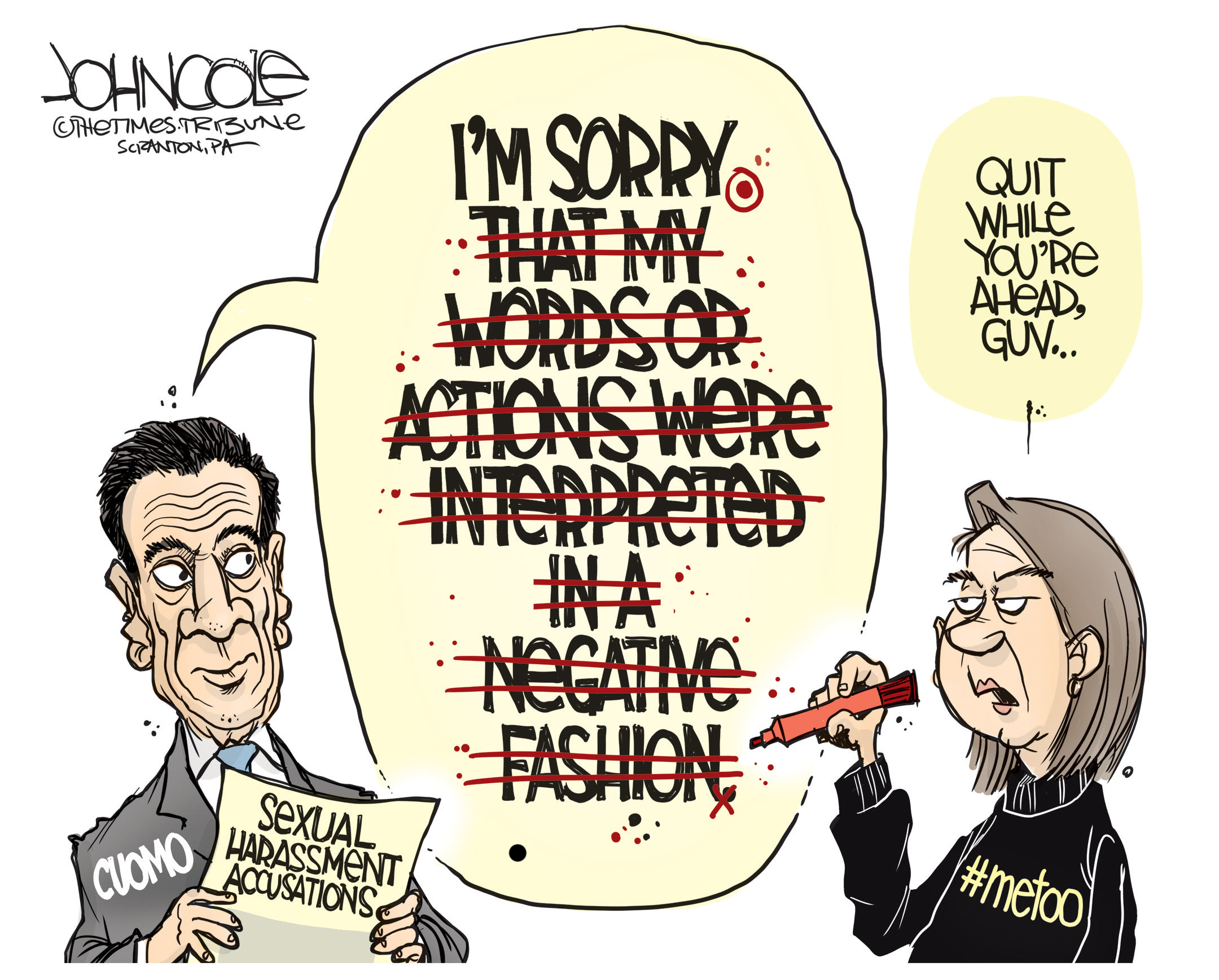 March 5: Cuomo Scandal