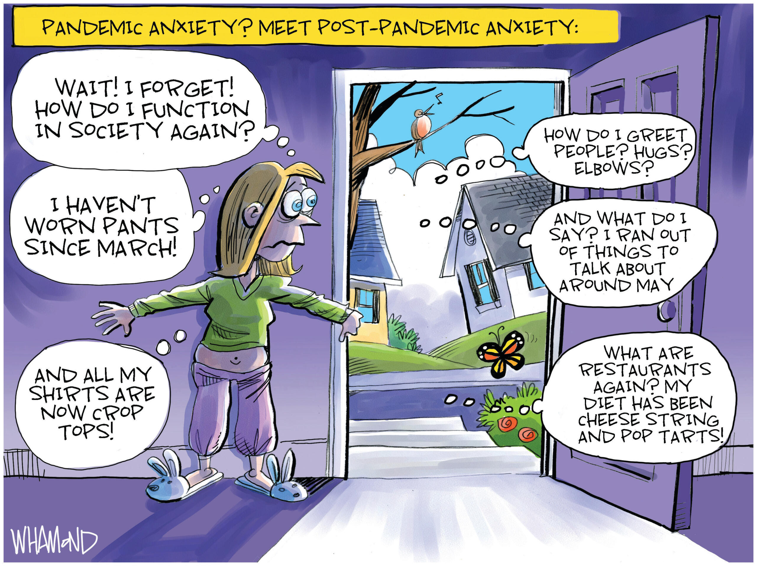March 20: Post-Pandemic Stress