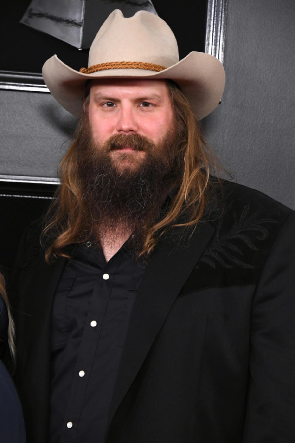 Chris Stapleton attends the 61st Annual Grammy Awards at Staples Center on Feb. 10, 2019 in Los Angeles, California. (Jon Kopaloff/Getty Images/TNS) (Allen J.