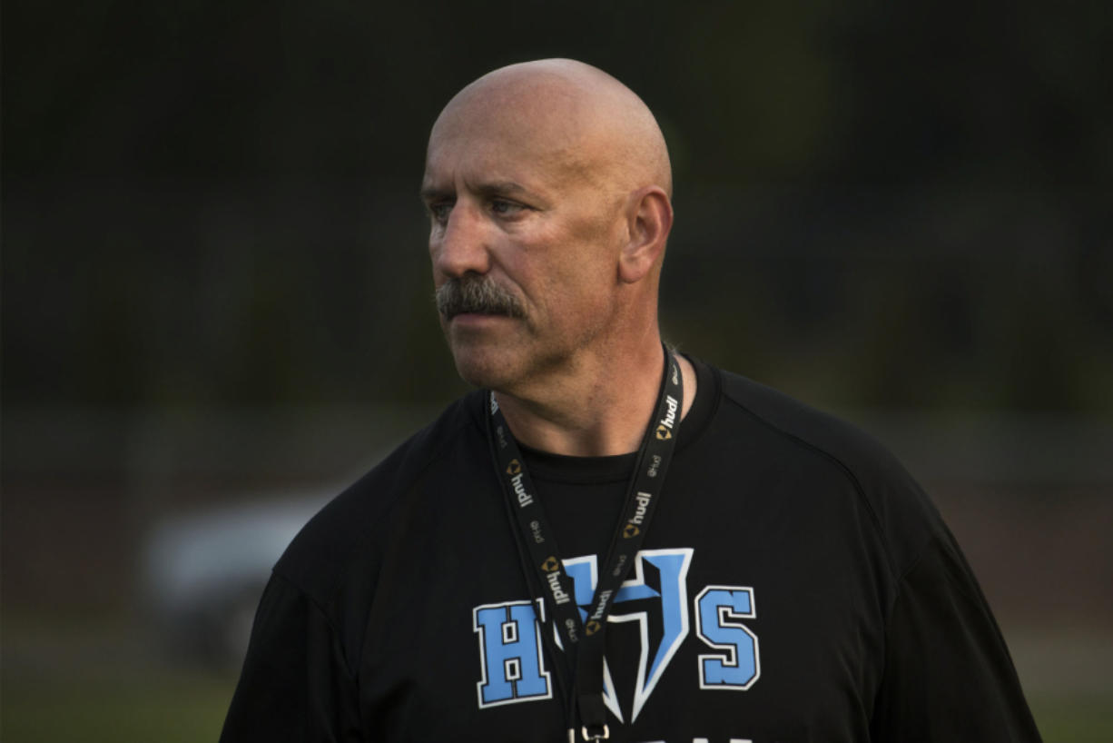 Hockinson football coach Rick Steele is happy his team's schedule could be changed to include a game against Ridgefield, the only other unbeaten team in the 2A Greater St. Helens League.